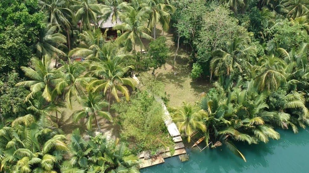 hostel en Loboc Bohol dron