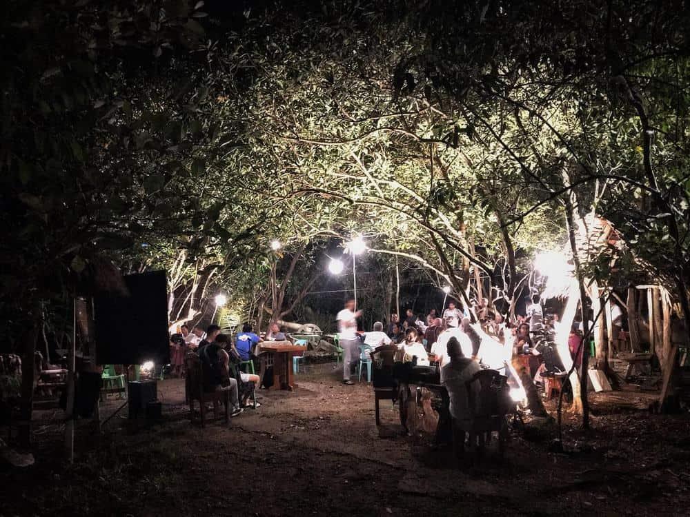 noches en el Bohol Coco Farm