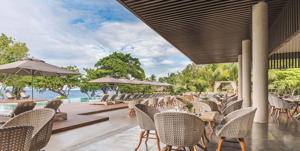 restaurante con vistas Amorita Resort
