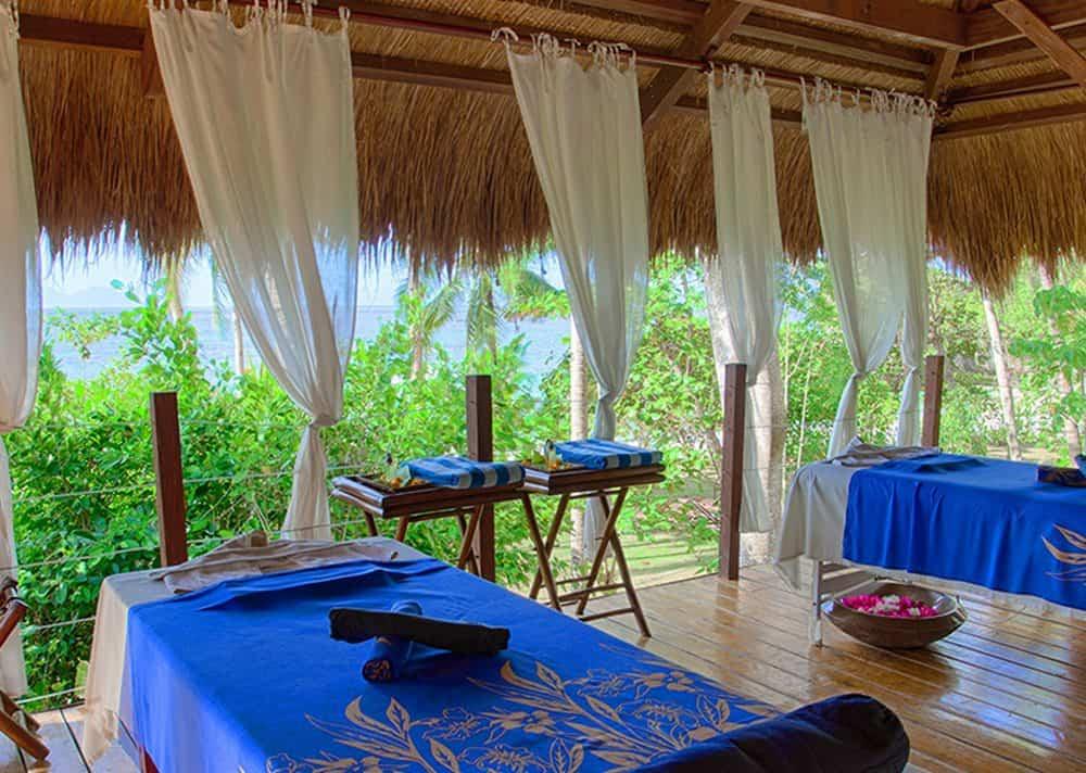 sala de spa Amun Ini Beach Resort