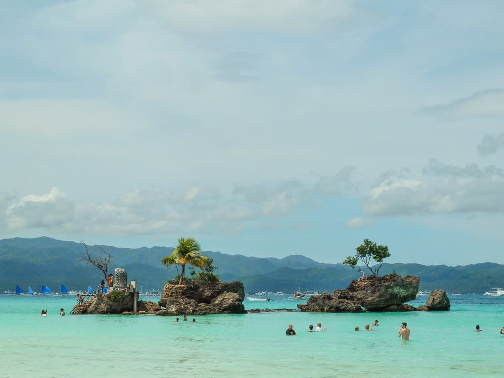 White Beach en Boracay viaje 12 días Filipinas