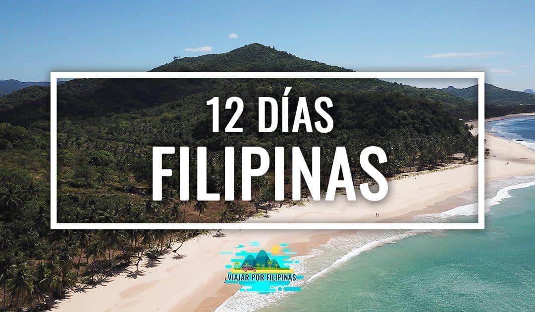 ruta de 12 días de itinerario por Filipinas