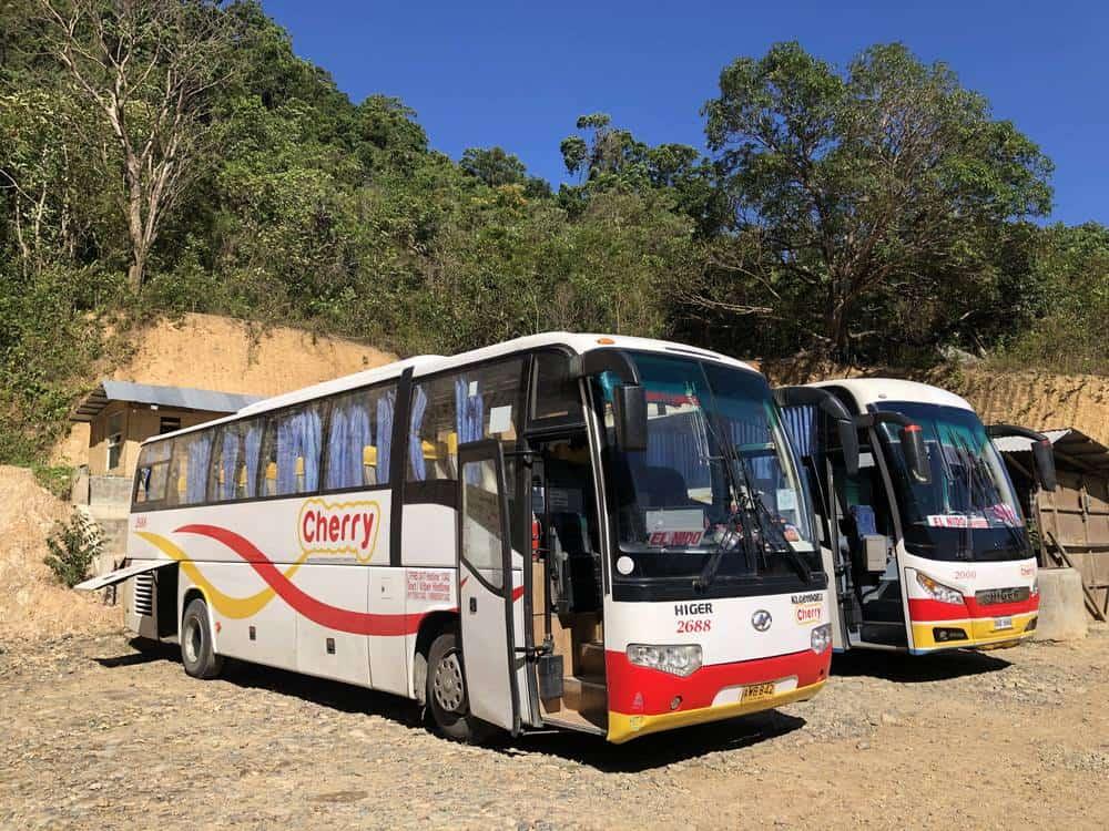 buses Puerto Princesa El Nido
