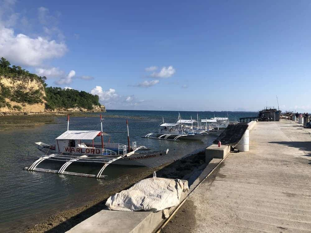 barco de Maya a Malapascua