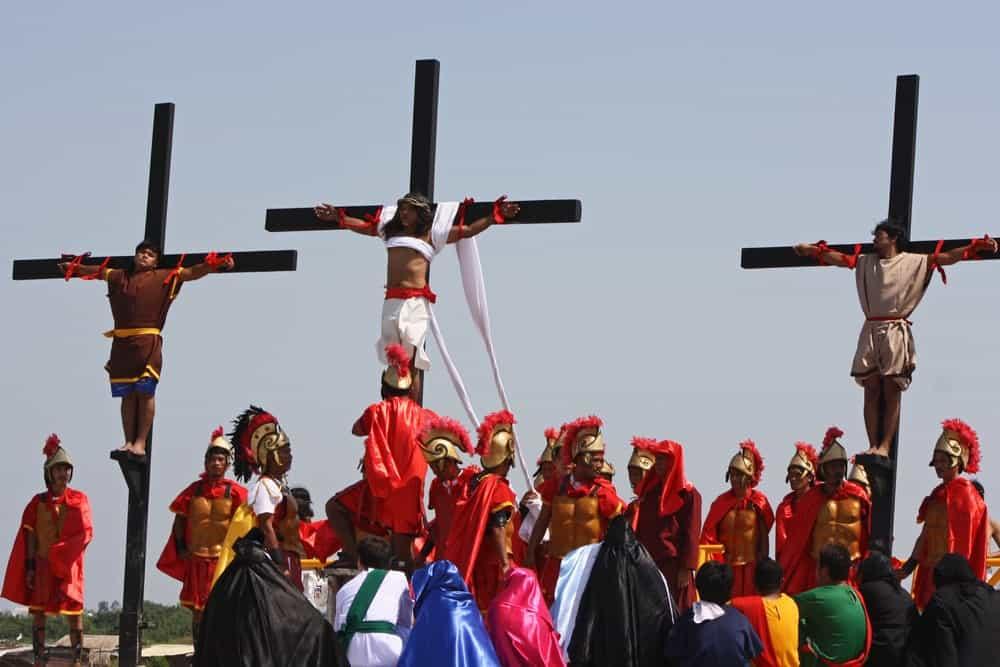 crucifixiones Semana Santa Filipinas