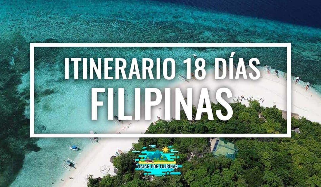 itinerario de viaje 18 días a Filipinas