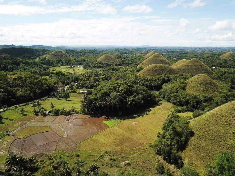 Colinas de Chocolate en Bohol, ruta 18 días en Filipinas