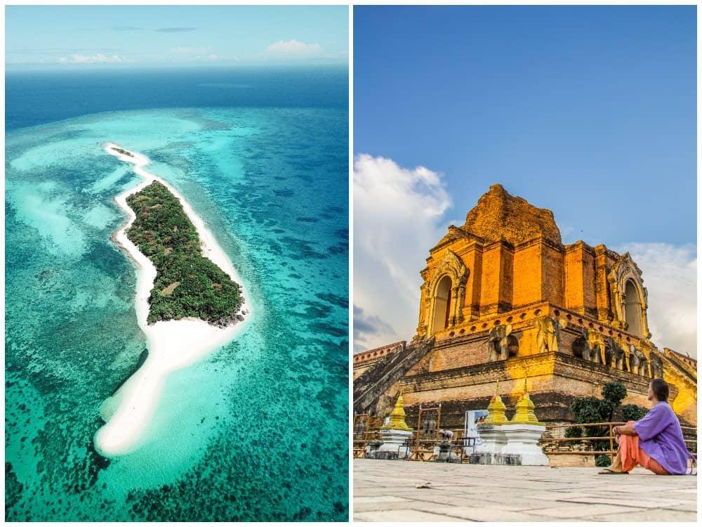 viaje combinado Filipinas y Tailandia