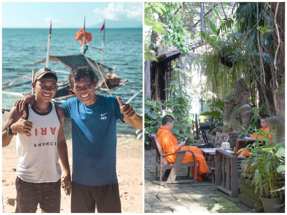 gente de Filipinas o de Tailandia