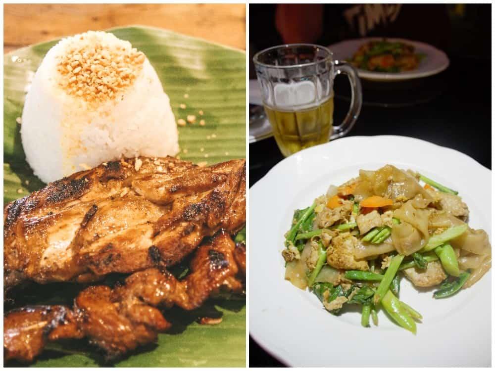 gastronomía de Filipinas y de Tailandia