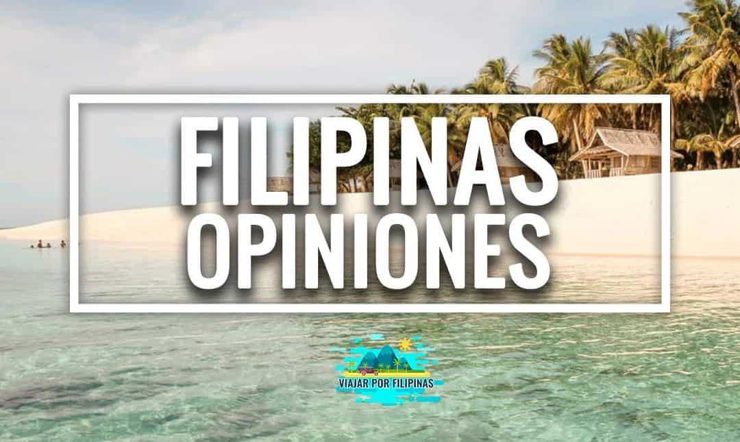 Viajar a Filipinas: opiniones